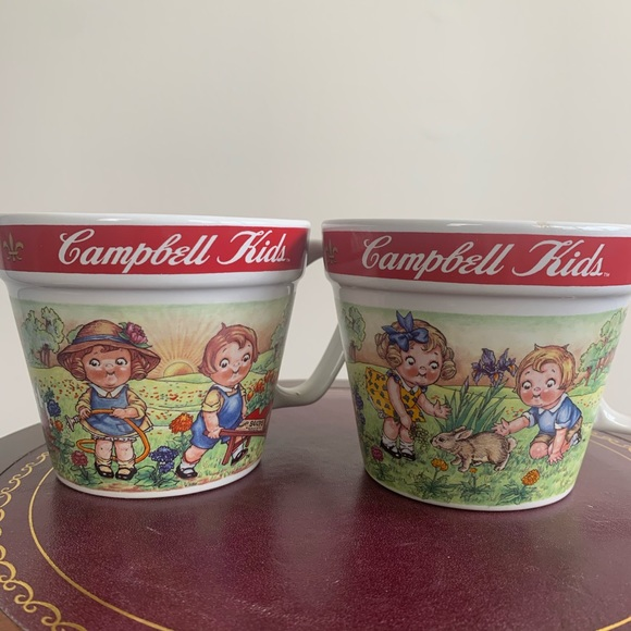 Vintage Other - Vintage 1998 Campbell's Soup Mugs by WESTWOOD